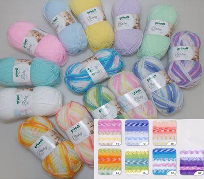 Bild von Gründl Babywolle Color und uni